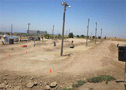 California BMX track