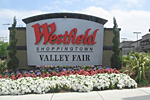 Westfield Valley Fair Shopping in Silicon Valley