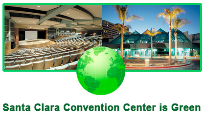 Santa Clara Convention Center is Green